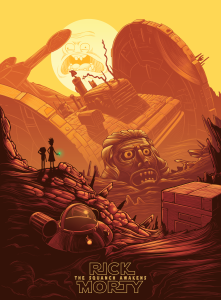 Rick and Morty Poster2